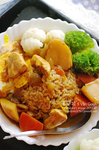 辣味雞肉咖哩飯