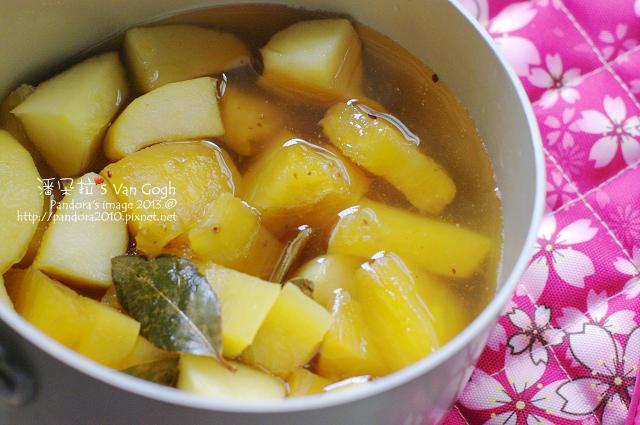 月桂鳳梨蘋果茶