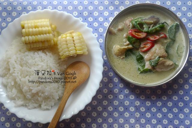 有食候。泰式咖哩風味調理包-綠咖哩雞肉
