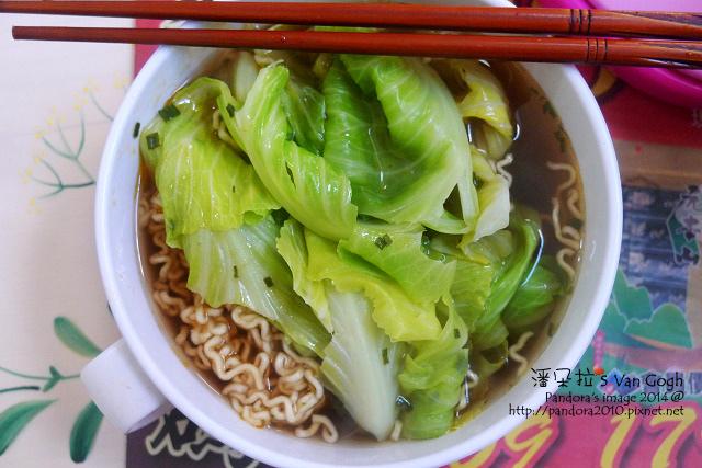 2014.01.20-泡麵+高麗菜