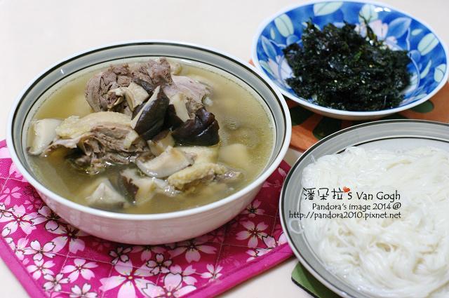 2014.02.04-香菇雞湯、麵線、海苔酥.jpg