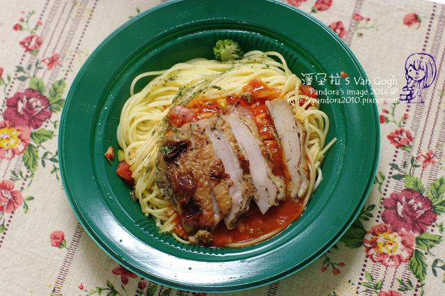 2014.02.18-(全家)番茄烤雞義大利麵-.jpg