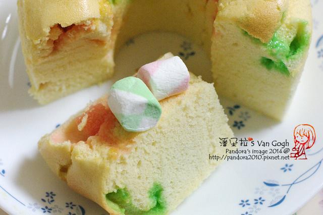 棉花糖戚風蛋糕