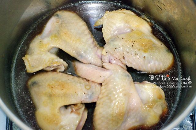甘梅滷雞翅