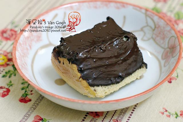 脆皮巧克力香蕉蛋糕