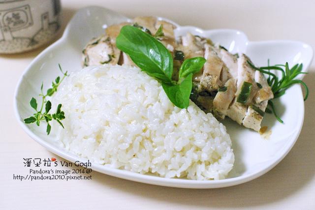 香草油雞飯