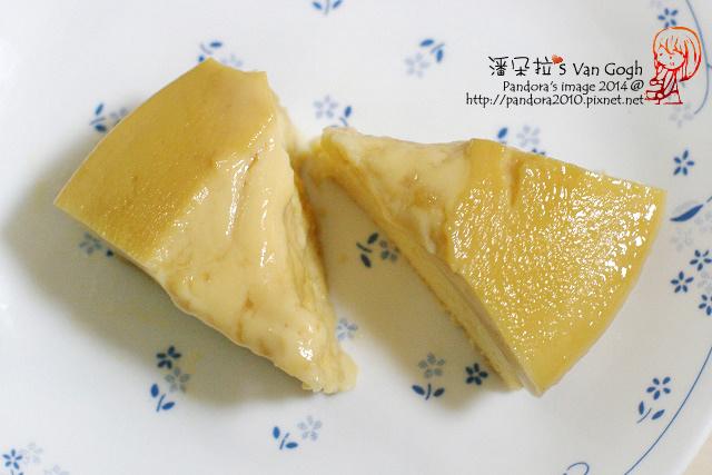 焦糖布丁蛋糕 (蜜豆奶)