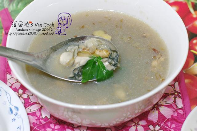2014.06.04-晚餐。豆豉鮮蚵湯.jpg