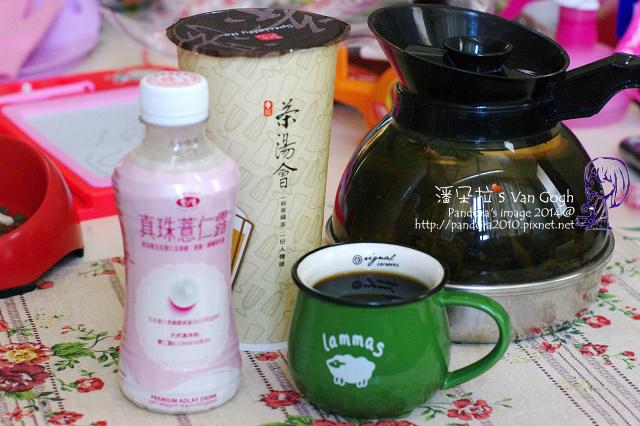 2014.07.14-(茶湯會)鮮桔茶、真珠薏仁露、黑咖啡、鐵觀音.jpg