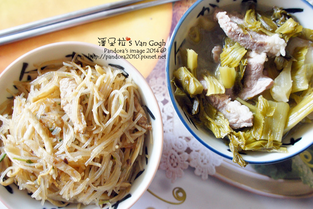 2014.10.12-炒米粉、酸菜豬肉湯.jpg