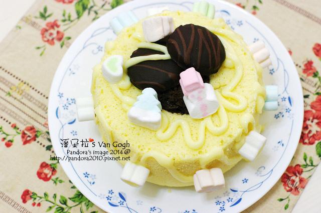 卡士達巧克力慕思蛋糕