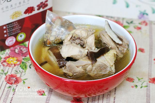 養氣香菇雞湯