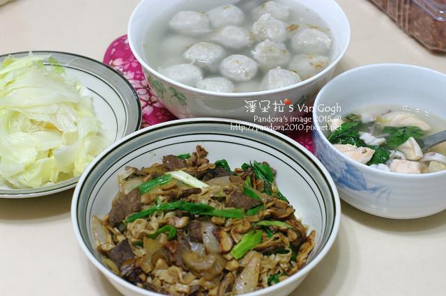 2015.03.12-虱目魚丸湯、炒高麗菜、羅宋牛肉炒麵.jpg