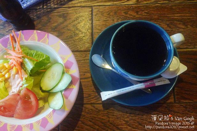 2015.07.03-(犁村)生菜沙拉&熱咖啡.jpg