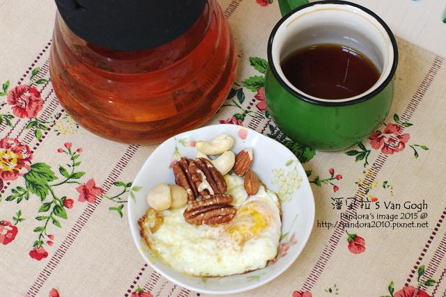 2015.07.07-(拉拉吉)手沖咖啡、香料橄欖油荷包蛋、綜合堅果、(曼寧)玫瑰花茶.jpg