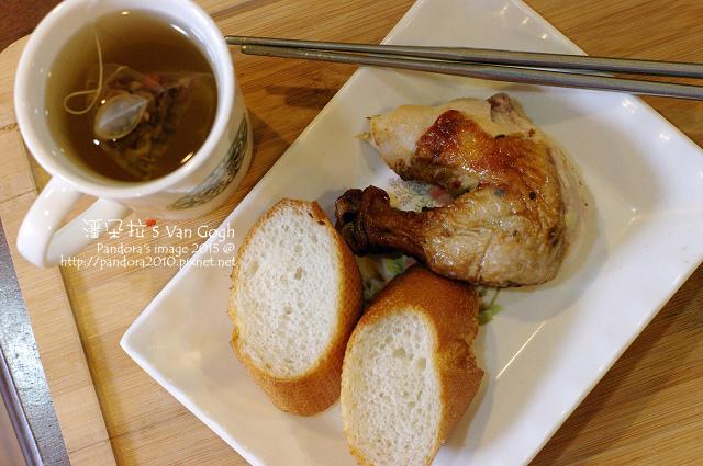 2015.08.08-法國長棍麵包、墨西哥烤雞、漢方養氣茶.jpg