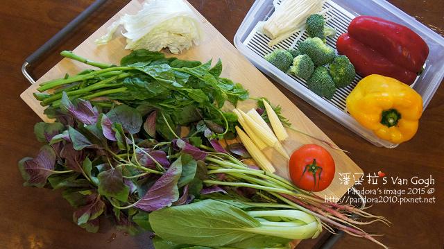 2015.10.10-(健健美3號套餐)食材。蔬菜蕈菇.jpg