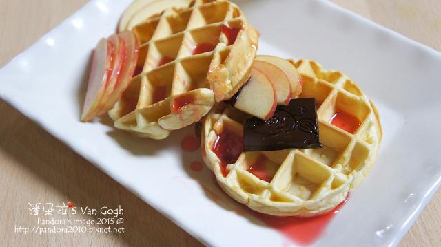 2015.10.12-原味鬆餅。蘋果、黑巧克力、洛神玫瑰釀.jpg