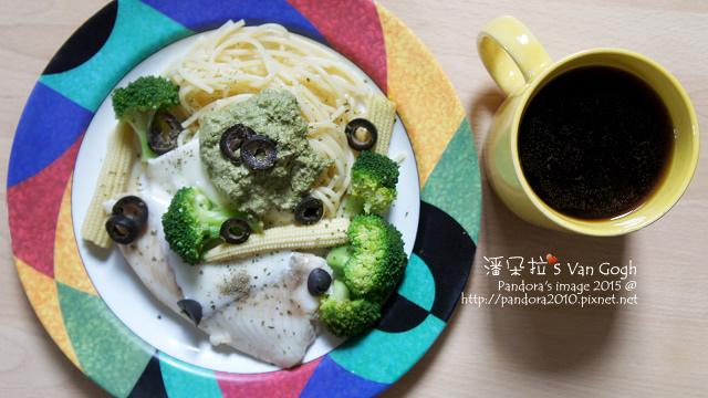 2015.10.21-青醬起司魚片義大利麵、熱美式咖啡-3.jpg