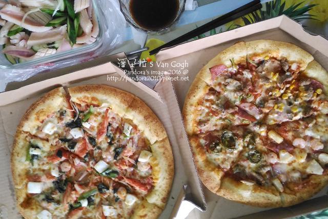 2016.05.07-涼拌魷魚、(達美樂)pizza.jpg