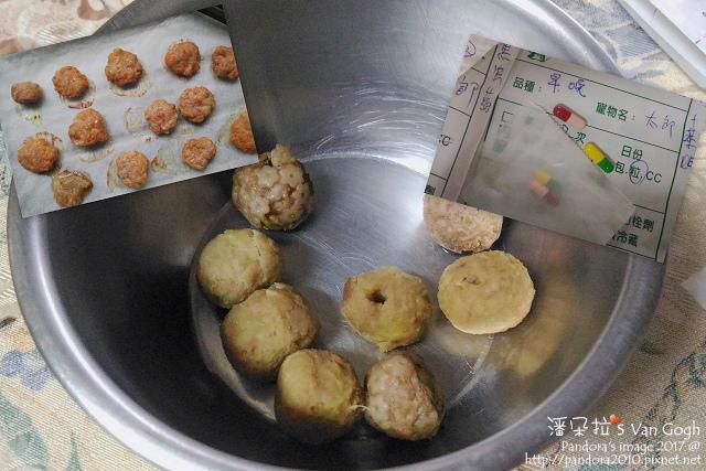 2017.05.01-太郎的藥和肉丸子.jpg