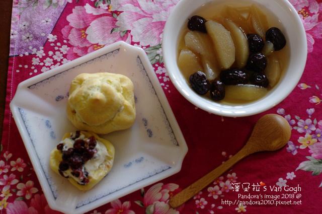 2018.02.14-蔓越莓優格泡芙、冰糖紅棗燉蘋果.jpg