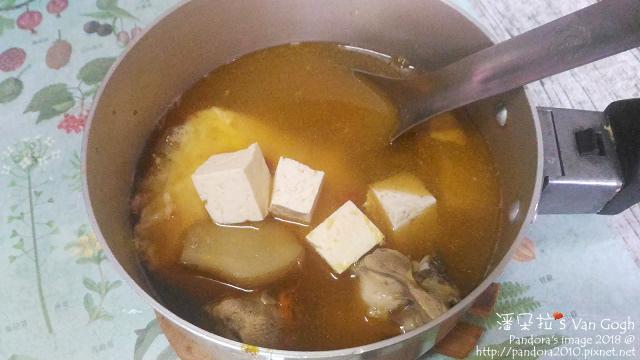 2018.02.05-麻油雞酒湯+板豆腐+荷包蛋.jpg