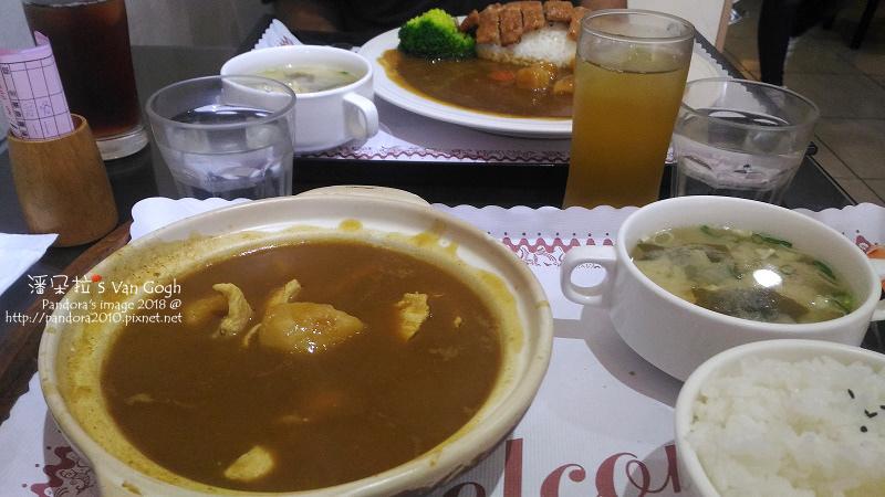 2018.06.03-(雅舍)咖哩雞肉煲飯、豬肉味噌湯、茉莉綠茶.jpg