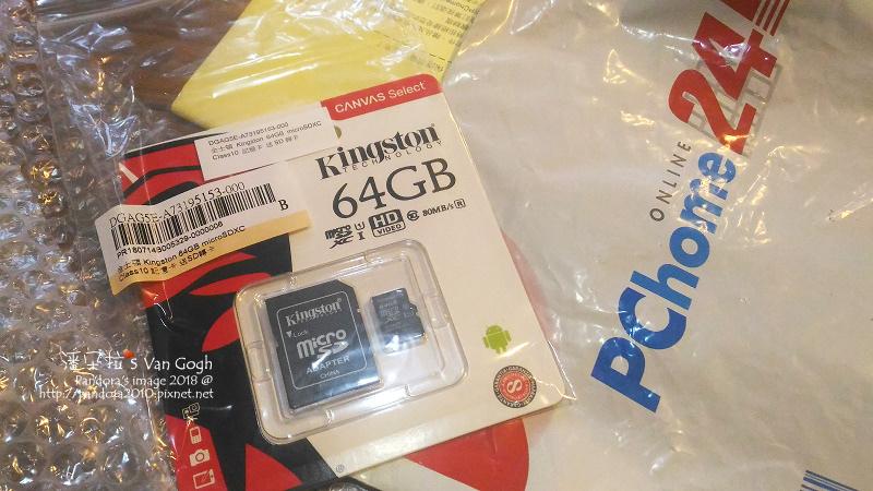 2018.07.24-記憶卡Kingston microsd 64GB.jpg