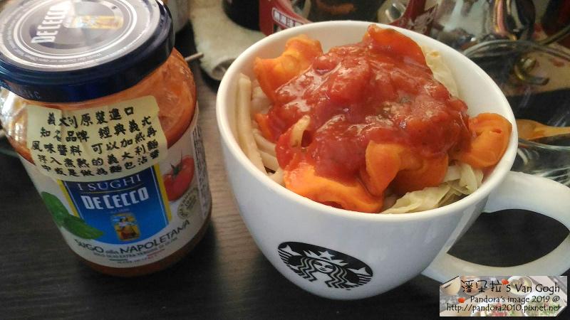 2019.01.03-拉麵+胡蘿蔔、高麗菜乾+(義大利DE CECCO)西西里麵醬.jpg