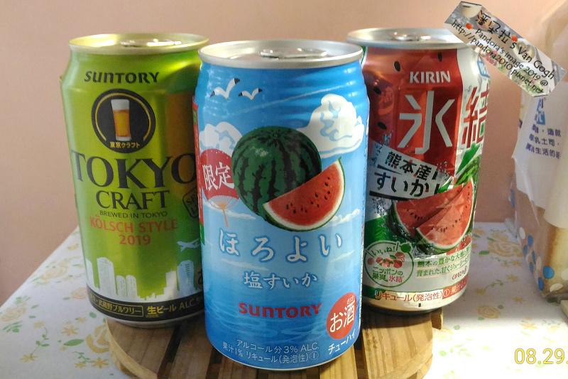2019.08.29-(SUNTORY)Tokyo Craft-Kolsch Style 2019 科隆啤酒 、(三得利suntory)微醉-鹽味西瓜、(日KIRIN)冰結-熊本西瓜.jpg