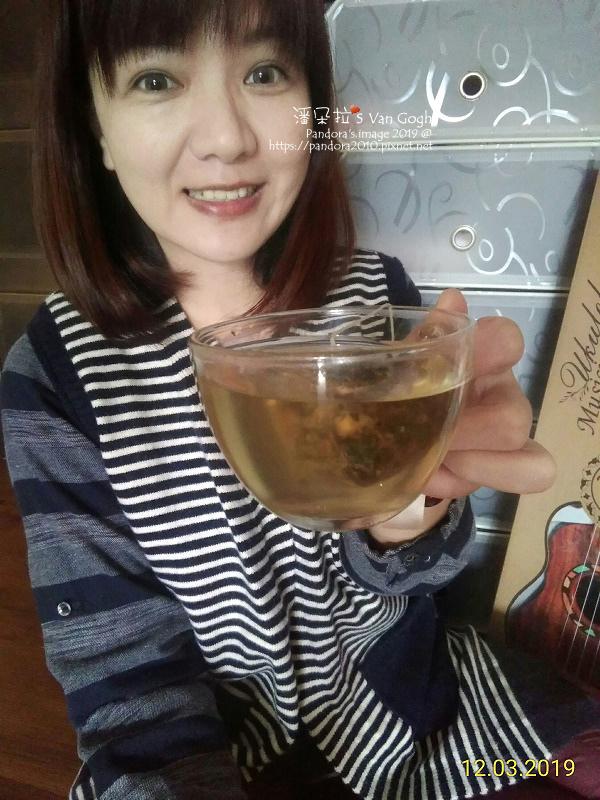 2019.12.04-潘朵拉's Van Gogh。(台灣茶人)洋甘菊花薑茶
