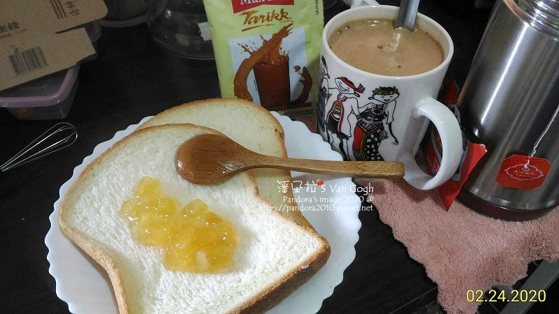 2020.02.24-蜂蜜蘋果醬三明治、(MAX TEA TARIKK)印尼拉茶 泡泡奶茶.jpg
