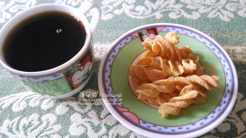 2020.03.21-可樂果、熱美式咖啡