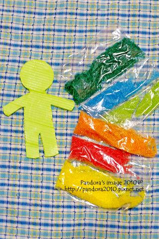 自製模型和色素糖