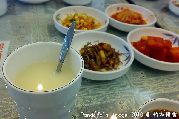 松子茶和小菜們