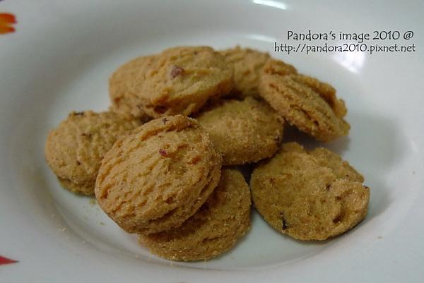 [健康日誌]無糖蔓越莓餅乾