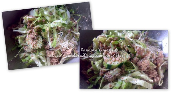 鮪魚生菜沙拉