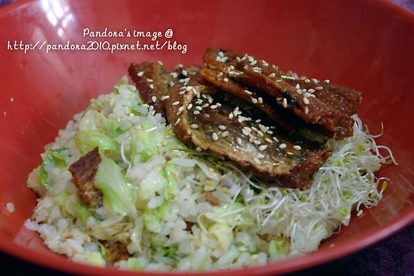 罐頭鰻魚飯(蒟蒻米)