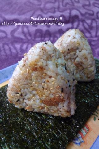 鮪魚烤飯糰