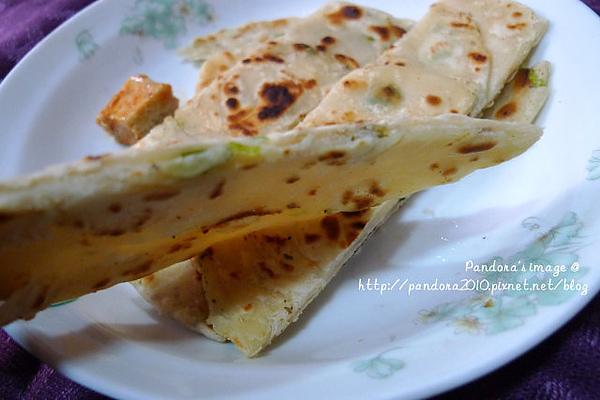 豆乳蔥油餅