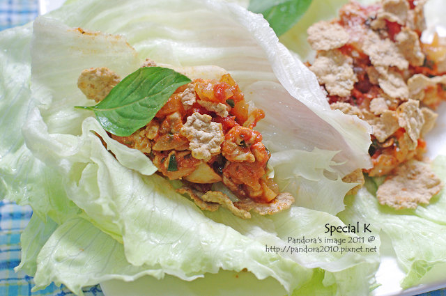 Special K + 蕃茄雞丁生菜沙拉