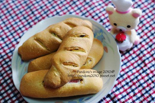 堅果&火腿麵包