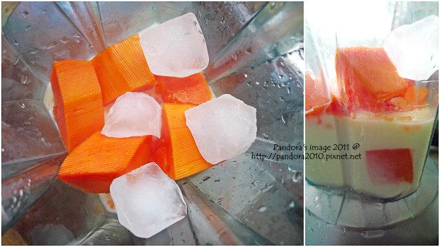 木瓜優酪乳 Papaya yogurt