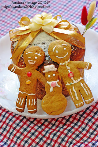 聖誕水果麵包&薑餅
