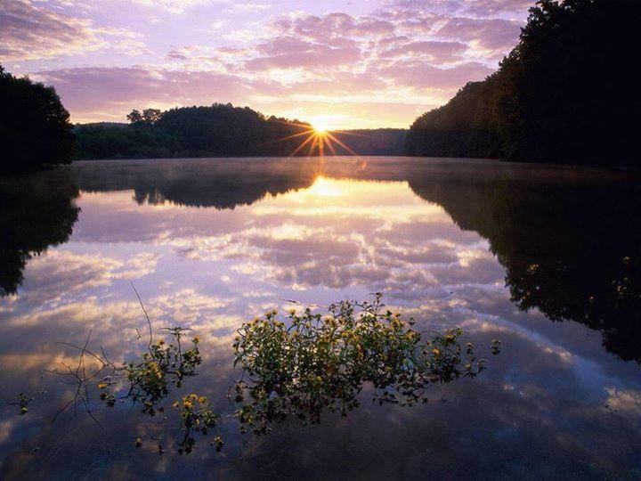 日出湖畔014