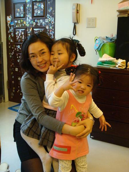 小姨姨和大小表姐
