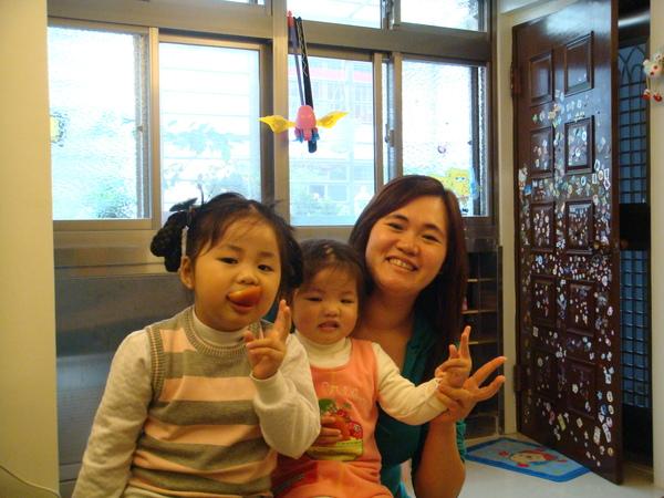 大姨姨和她可愛的女兒們