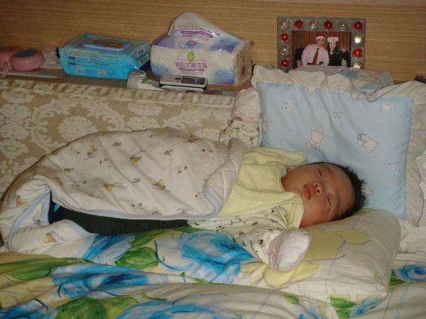 我喜歡睡馬麻的枕頭上