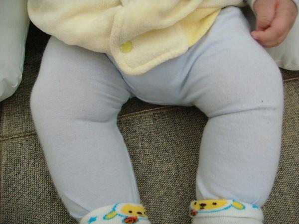 怎麼給我穿這麼緊的褲子阿